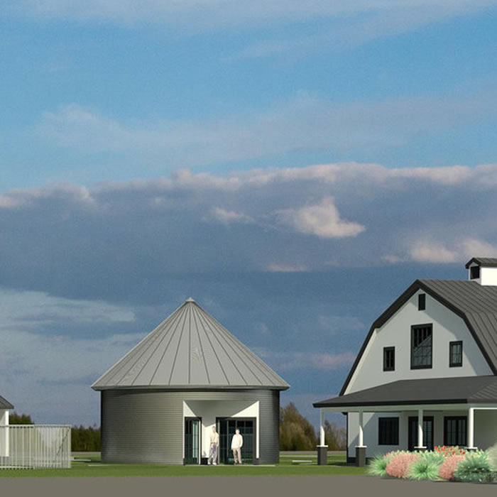 Rendering of the Granary Suite